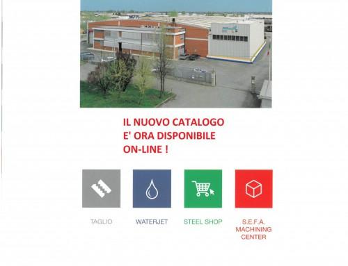 NUOVO CATALOGO S.E.F.A. ACCIAI
