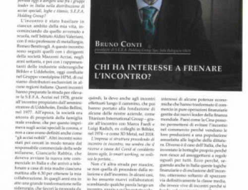CHI HA INTERESSE A FRENARE L'INCONTRO?
