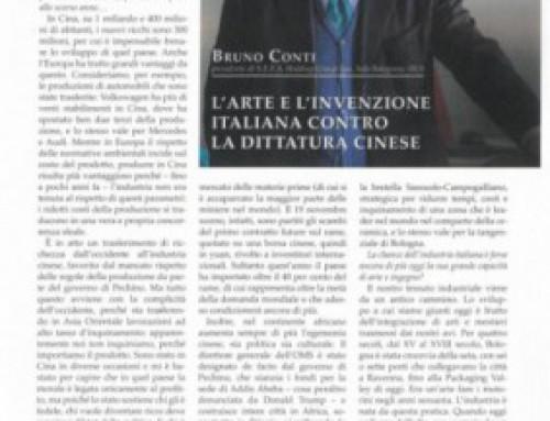 L'ARTE E L'INVENZIONE ITALIANA CONTRO LA DITTATURA CINESE